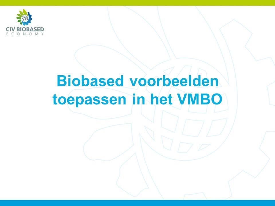 Biobased voorbeelden toepassen in het VMBO