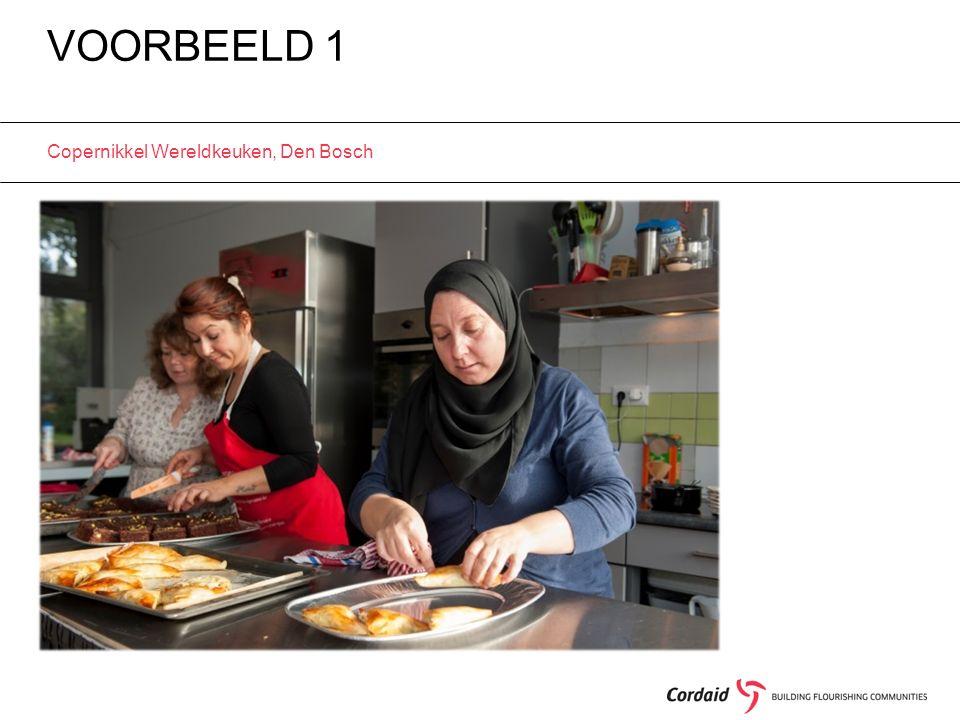 VOORBEELD 1 Copernikkel Wereldkeuken, Den Bosch