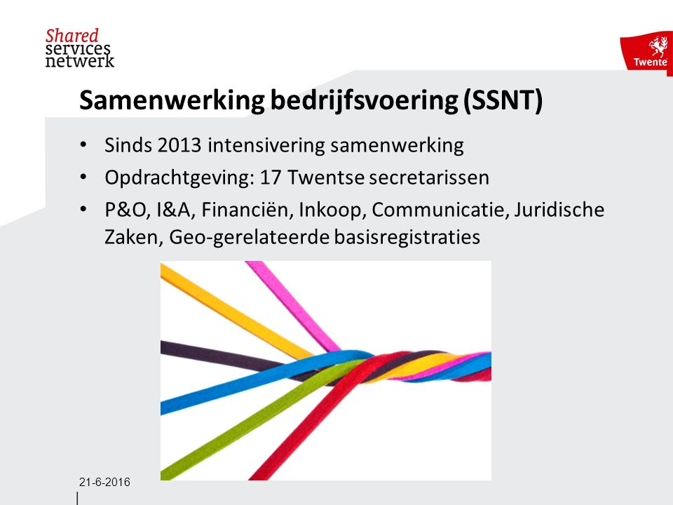 Formule SSNT Convergentiemodel en coalition of the willing.