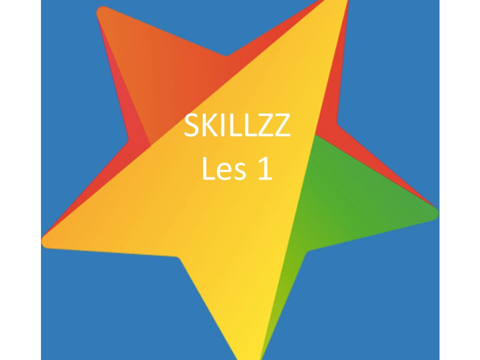 SKILLZZ Les 1