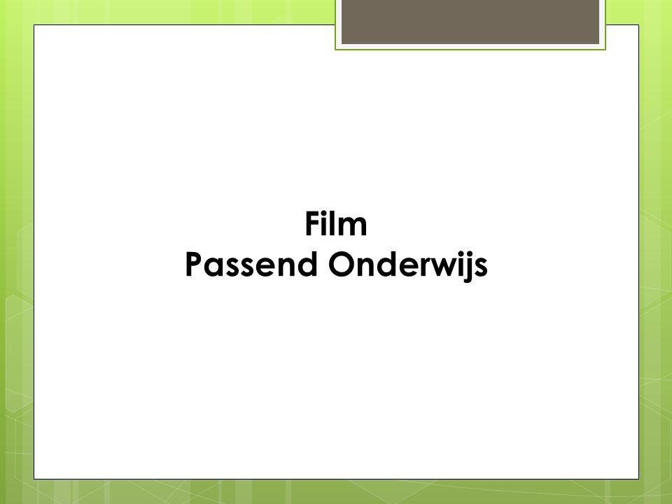 Film Passend Onderwijs