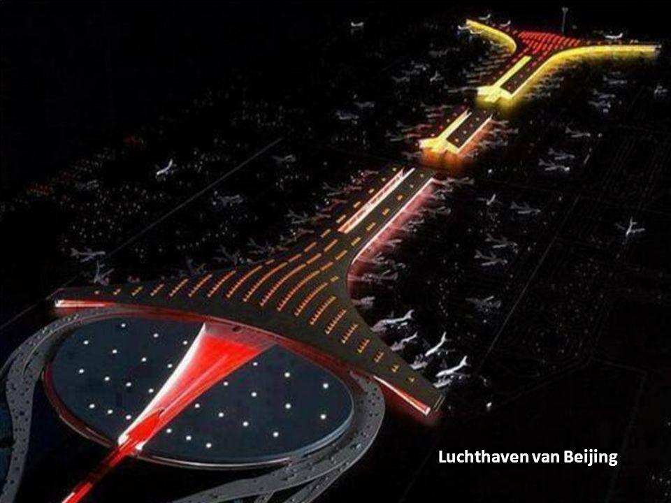 Zicht vanuit de lucht op Amsterdam