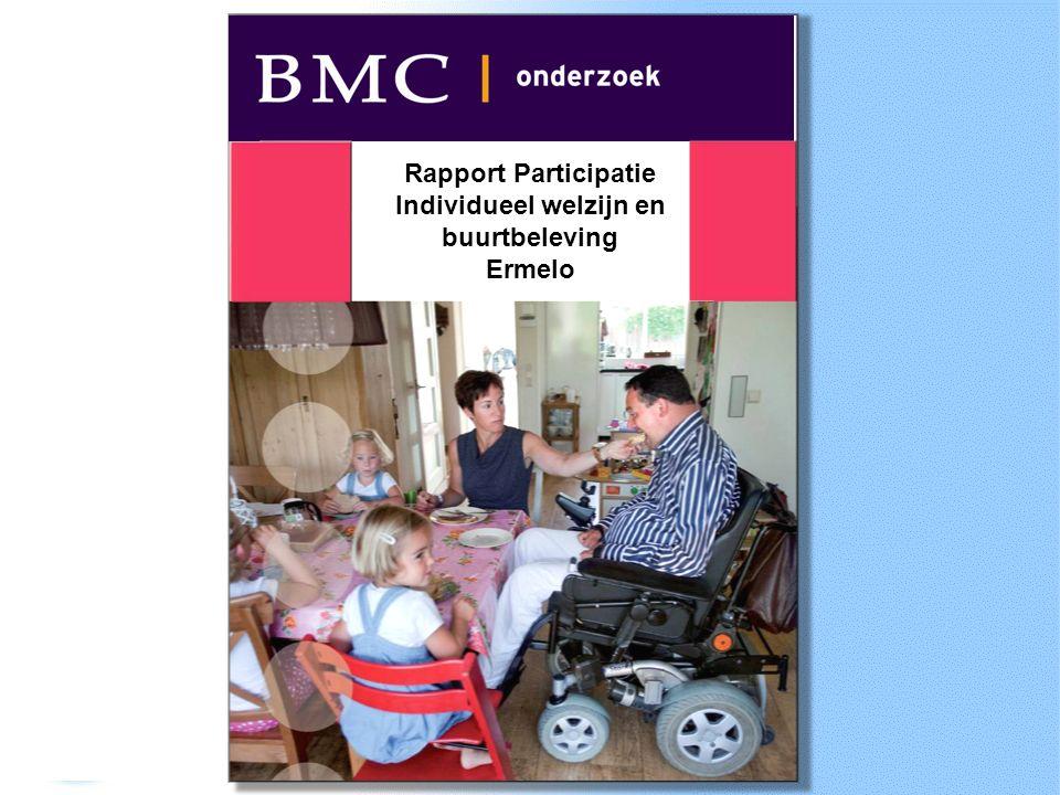 Rapport Participatie Individueel welzijn en buurtbeleving Ermelo
