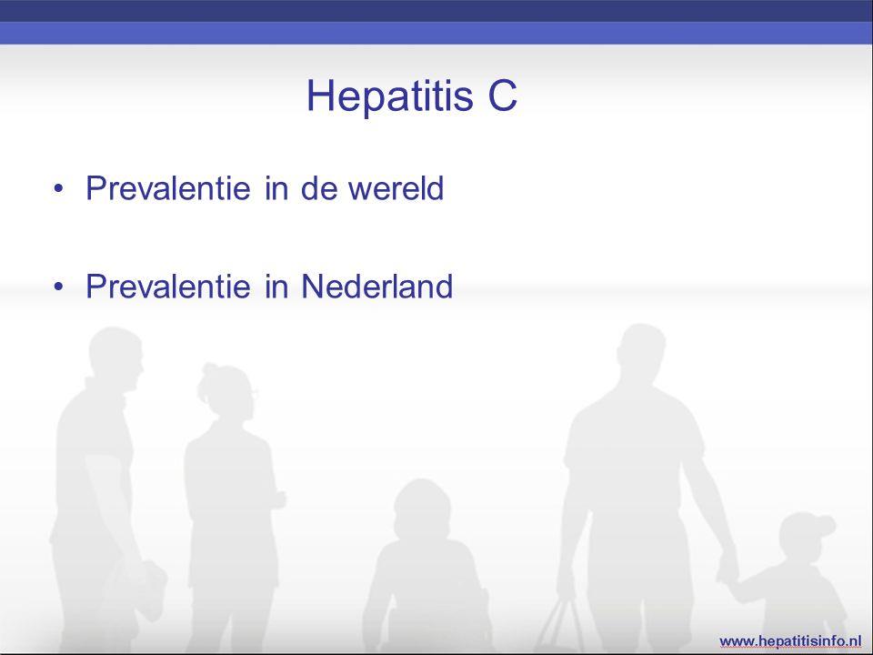 Hepatitis C prevalentie Bron: http://wwwnc.cdc.gov/travel/yellowbook/2016/infectious-diseases-related-to-travel/hepatitis-c (2013)