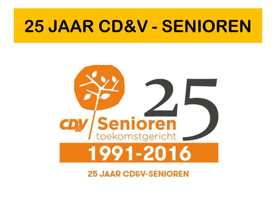 25 JAAR CD&V - SENIOREN