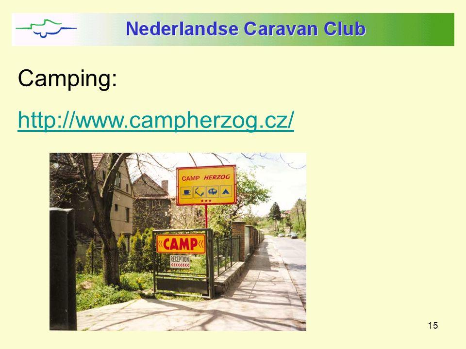 15 Camping: http://www.campherzog.cz/