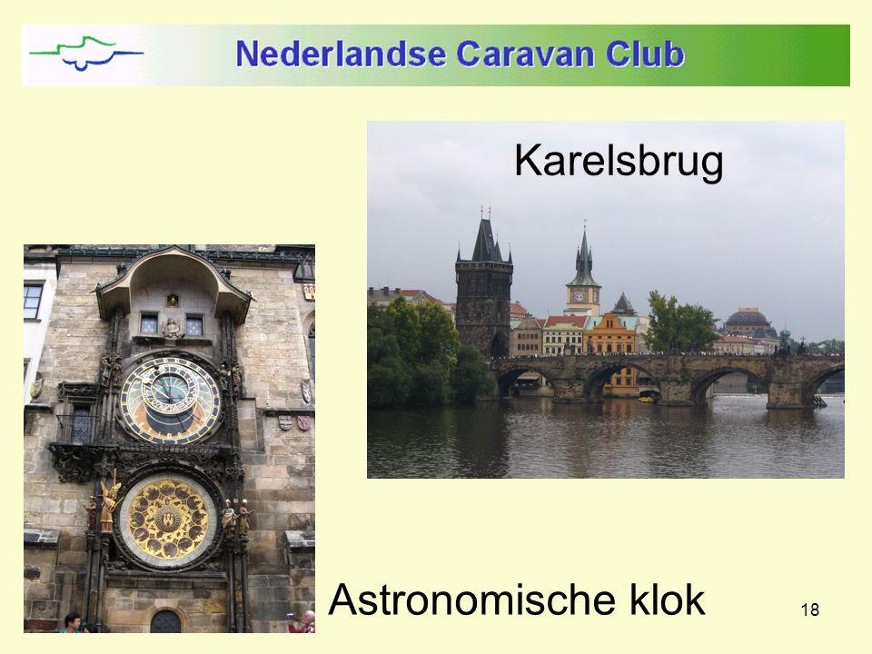 18 Karelsbrug Astronomische klok