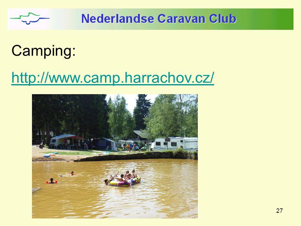 27 Camping: http://www.camp.harrachov.cz/