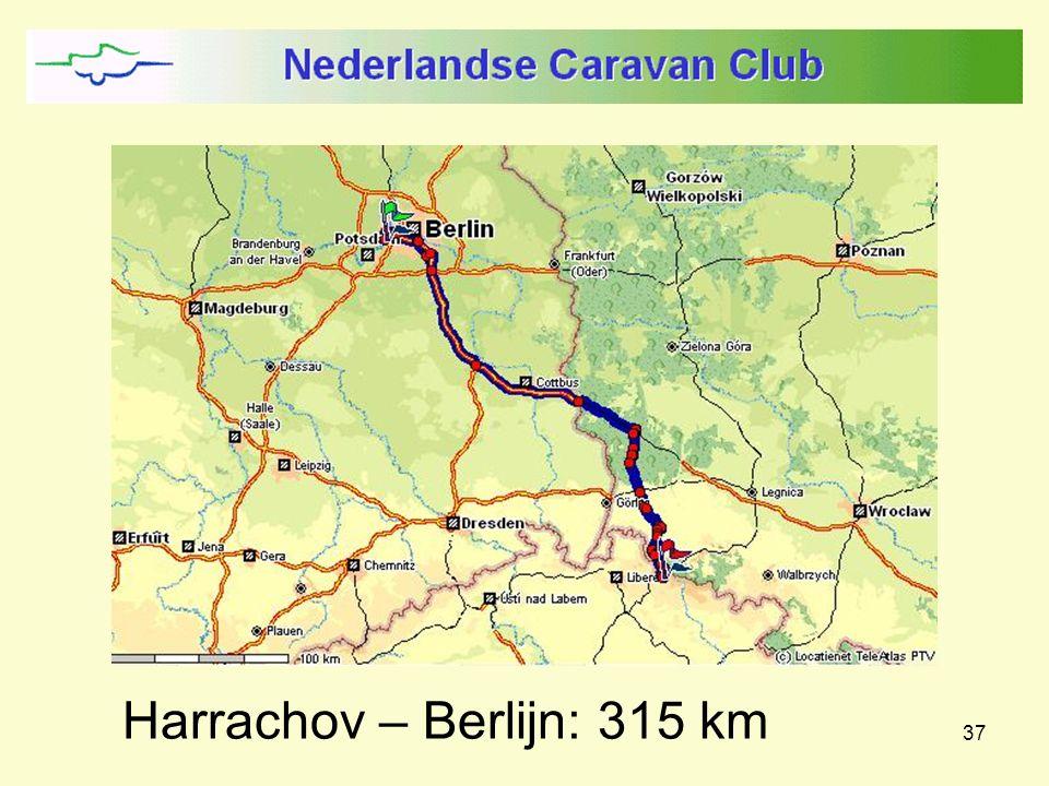 37 Harrachov – Berlijn: 315 km