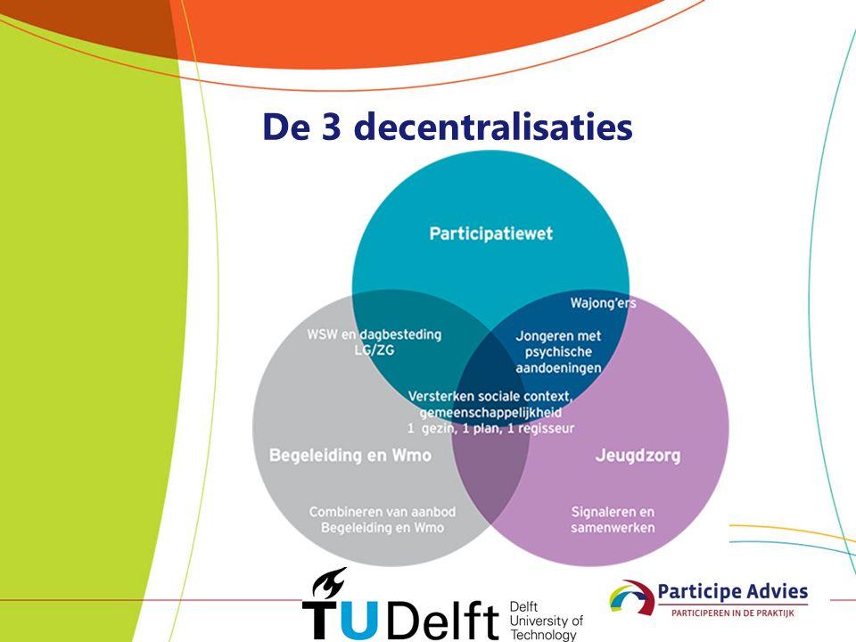 De 3 decentralisaties