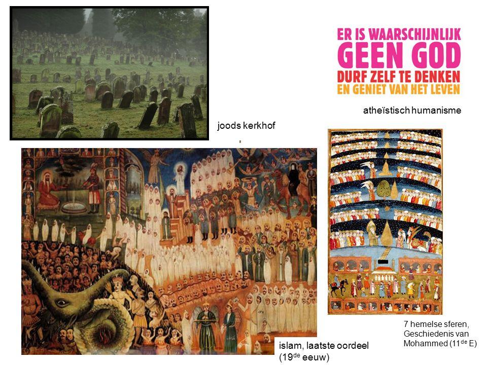 islam, laatste oordeel (19 de eeuw) atheïstisch humanisme joods kerkhof 7 hemelse sferen, Geschiedenis van Mohammed (11 de E)