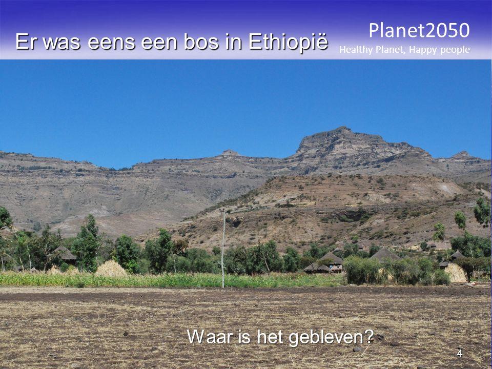 Er was eens een bos in Ethiopië Planet2050 Healthy Planet, Happy people 4 Waar is het gebleven?