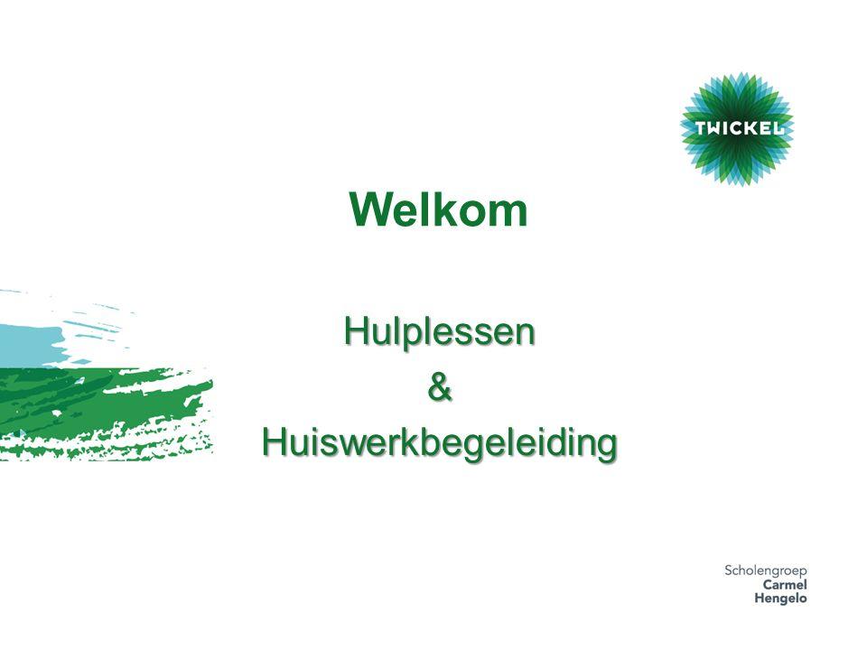 Welkom Hulplessen&Huiswerkbegeleiding