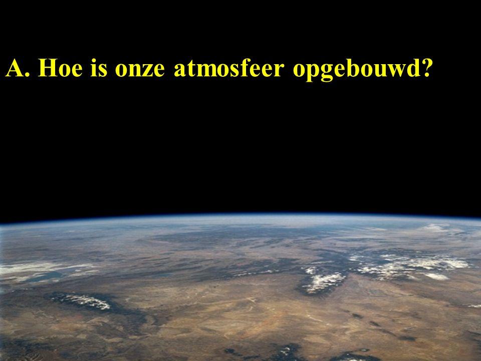 A. Hoe is onze atmosfeer opgebouwd