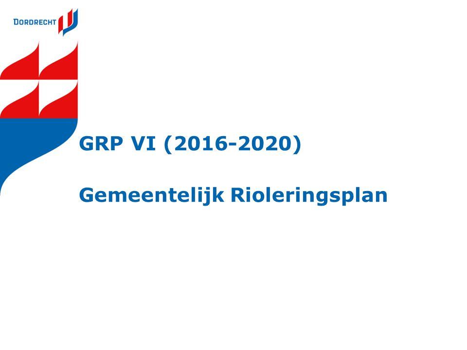 GRP VI (2016-2020) Gemeentelijk Rioleringsplan
