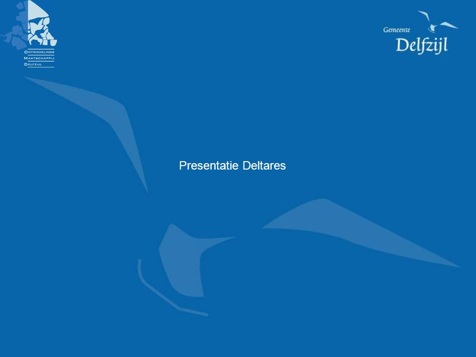 Presentatie Deltares