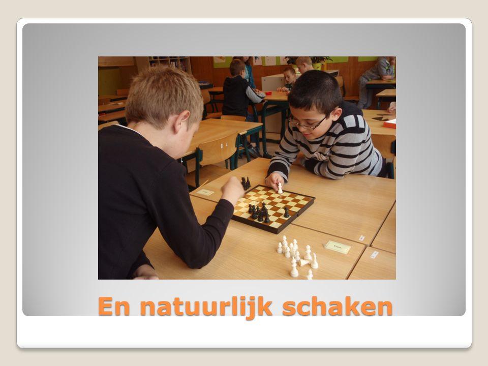 En natuurlijk schaken