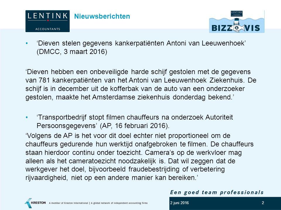 Logo klant 2 'Dieven stelen gegevens kankerpatiënten Antoni van Leeuwenhoek' (DMCC, 3 maart 2016) 'Dieven hebben een onbeveiligde harde schijf gestole