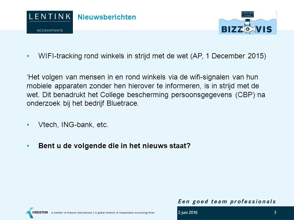 Logo klant 3 WIFI-tracking rond winkels in strijd met de wet (AP, 1 December 2015) 'Het volgen van mensen in en rond winkels via de wifi-signalen van