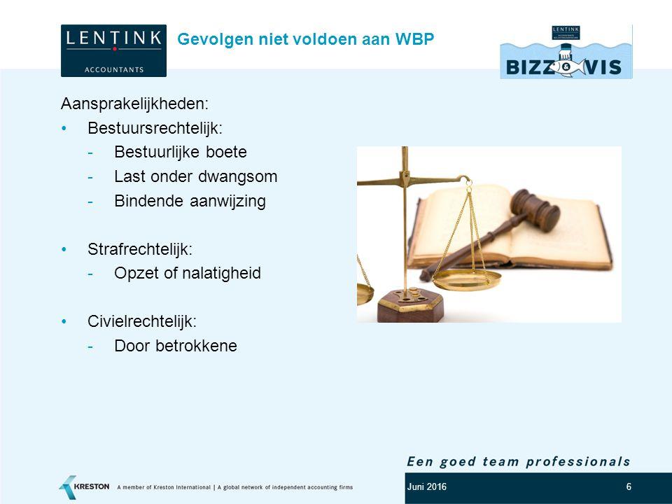 Logo klant 7 Artikel 8 WBP: Persoonsgegevens mogen slechts verwerkt worden indien: Ondubbelzinnig toestemming is verleend: Noodzakelijk voor de uitvoering van een overeenkomst (of pre- contractueel); Noodzakelijk voor een wettelijke verplichting; Noodzakelijk voor vitaal belang; Noodzakelijk voor een goede vervulling publiekrechtelijke taak; Noodzakelijk voor een gerechtvaardigd belang Grondslag verwerking persoonsgegevens Juni 2016
