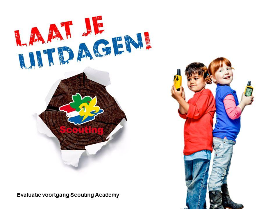 Evaluatie voortgang Scouting Academy