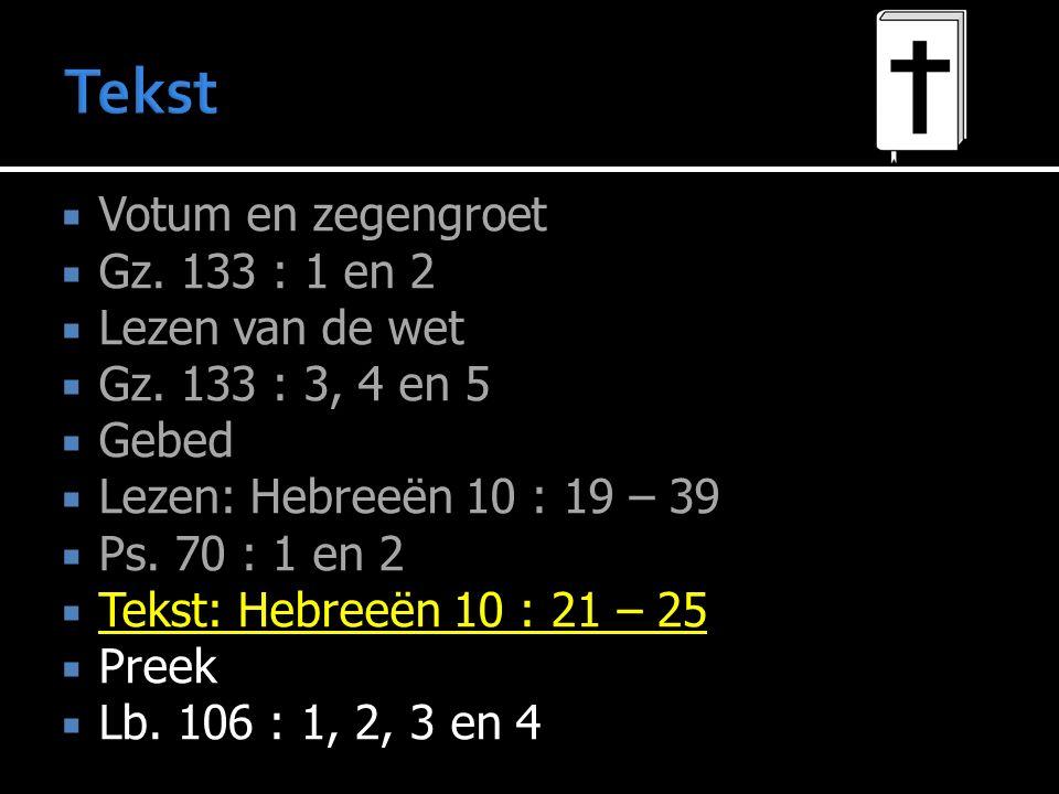 De weg is open (vs.19-21) Ga de weg (vs.