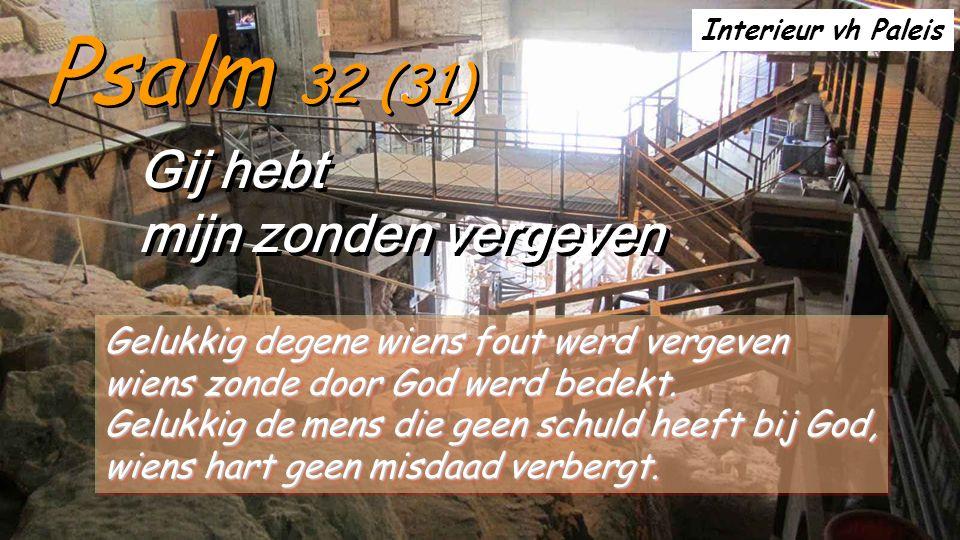 2Sam 12,7-10.13 Toen sprak Natan tot David na zijn zonde: Die man, dat bent u.