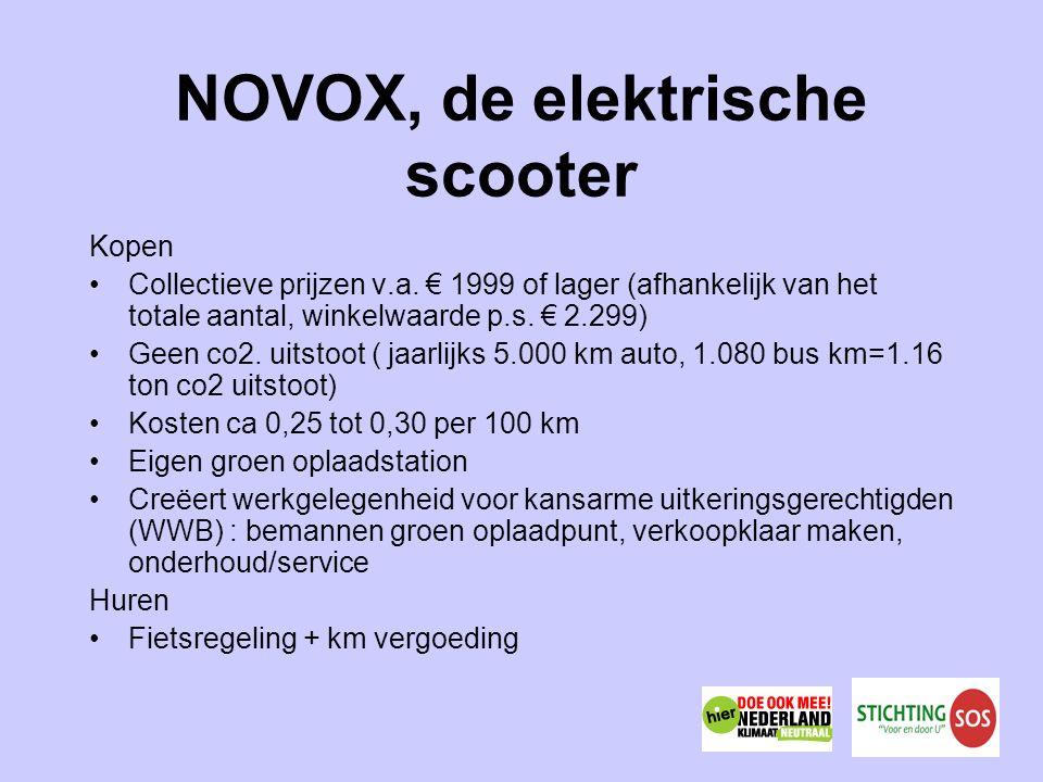 NOVOX, de elektrische scooter Kopen Collectieve prijzen v.a.
