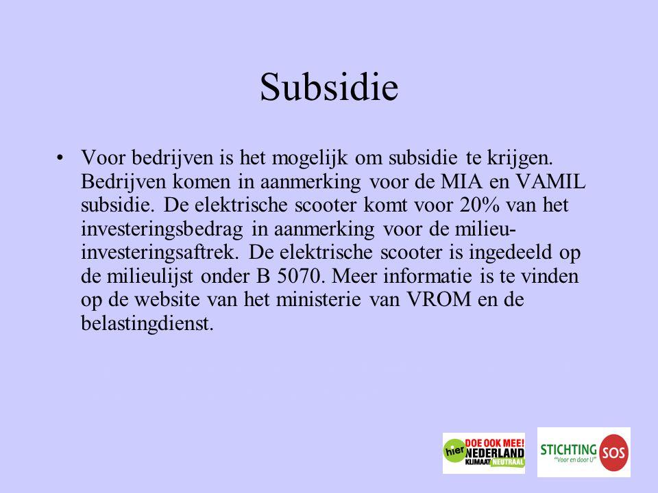 Subsidie Voor bedrijven is het mogelijk om subsidie te krijgen.