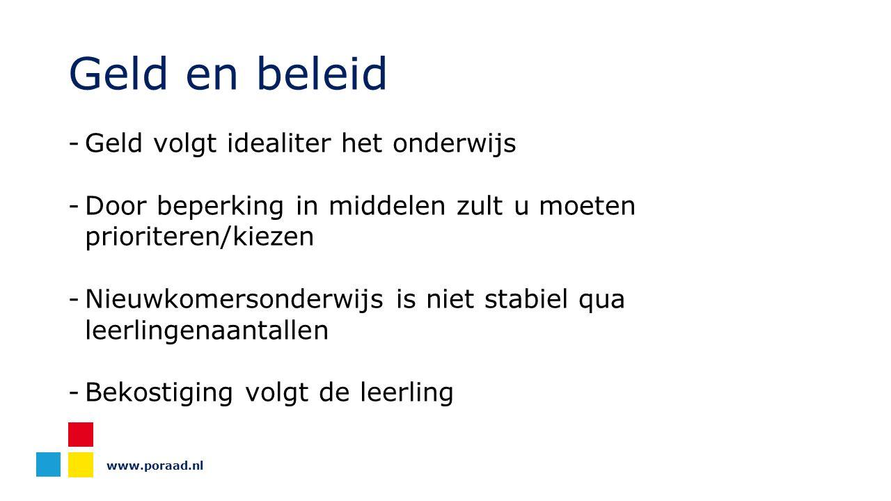 www.poraad.nl Inkomsten