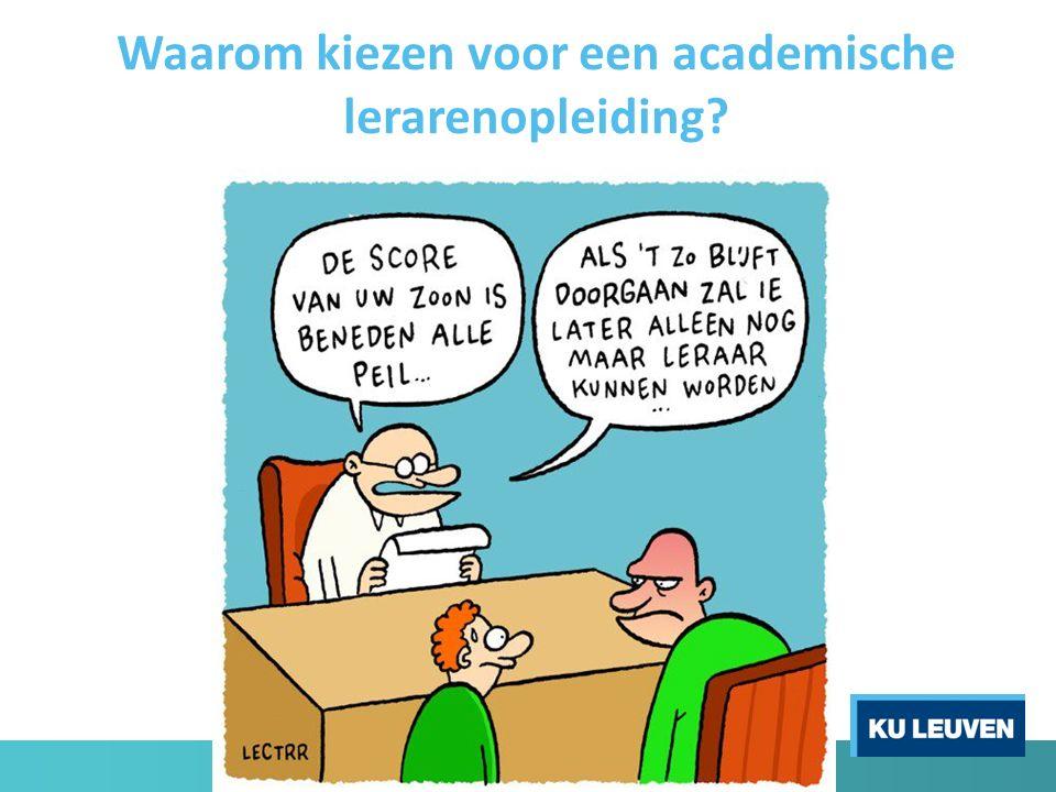 Waarom kiezen voor een academische lerarenopleiding?