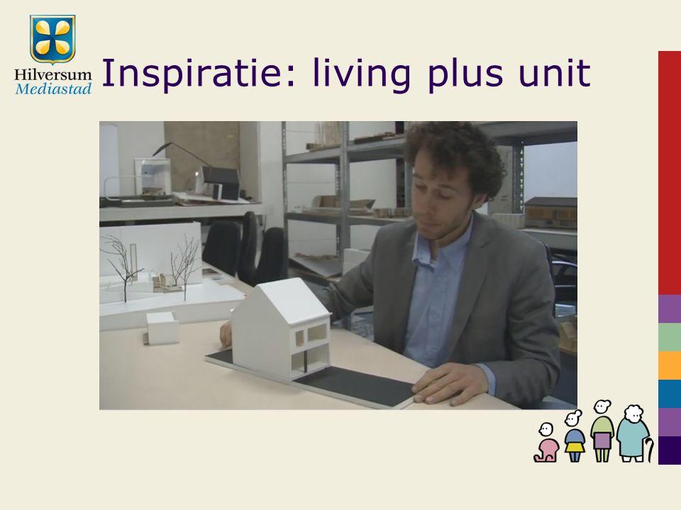 Inspiratie: living plus unit
