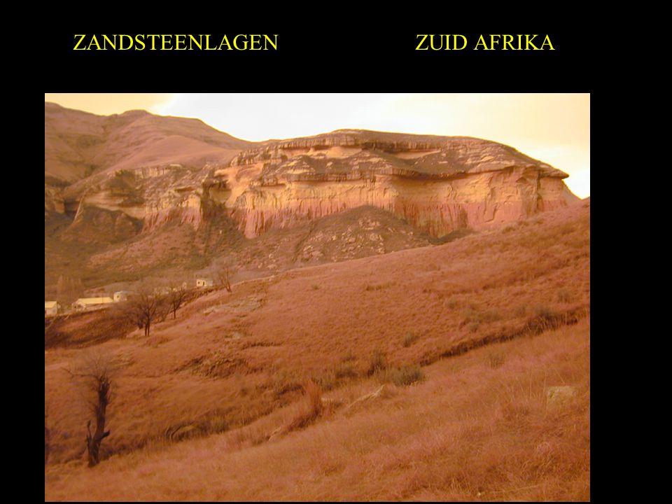 ZANDSTEENLAGEN ZUID AFRIKA