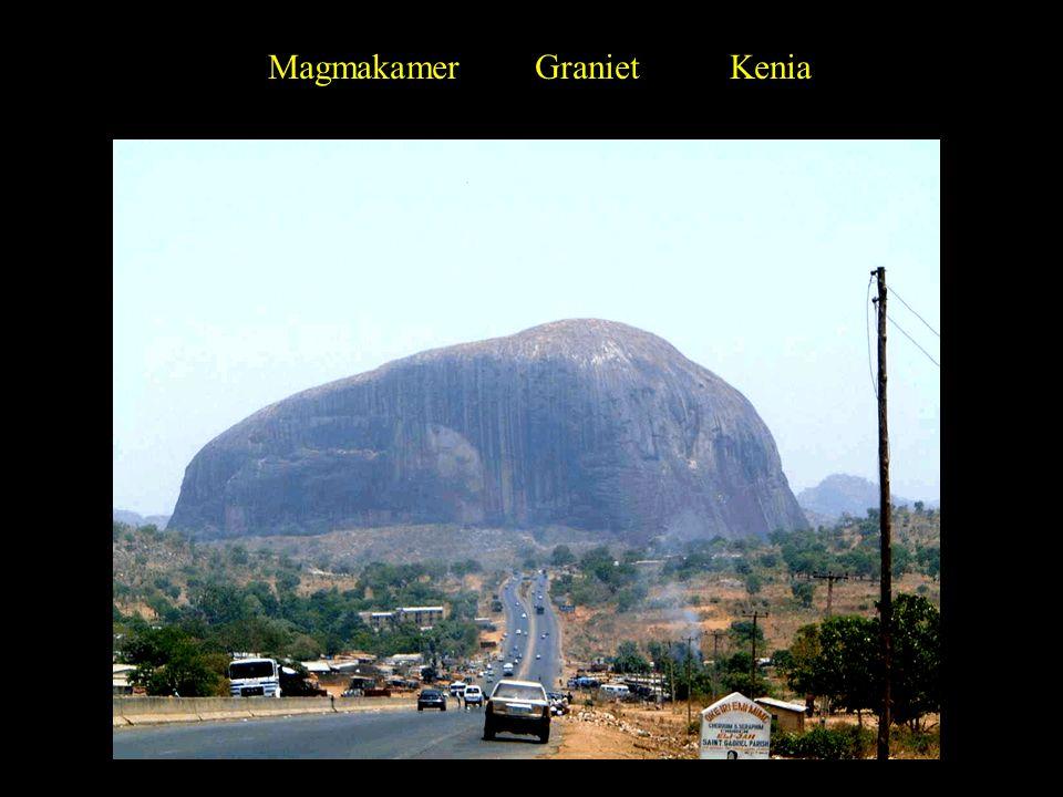 Magmakamer Graniet Kenia