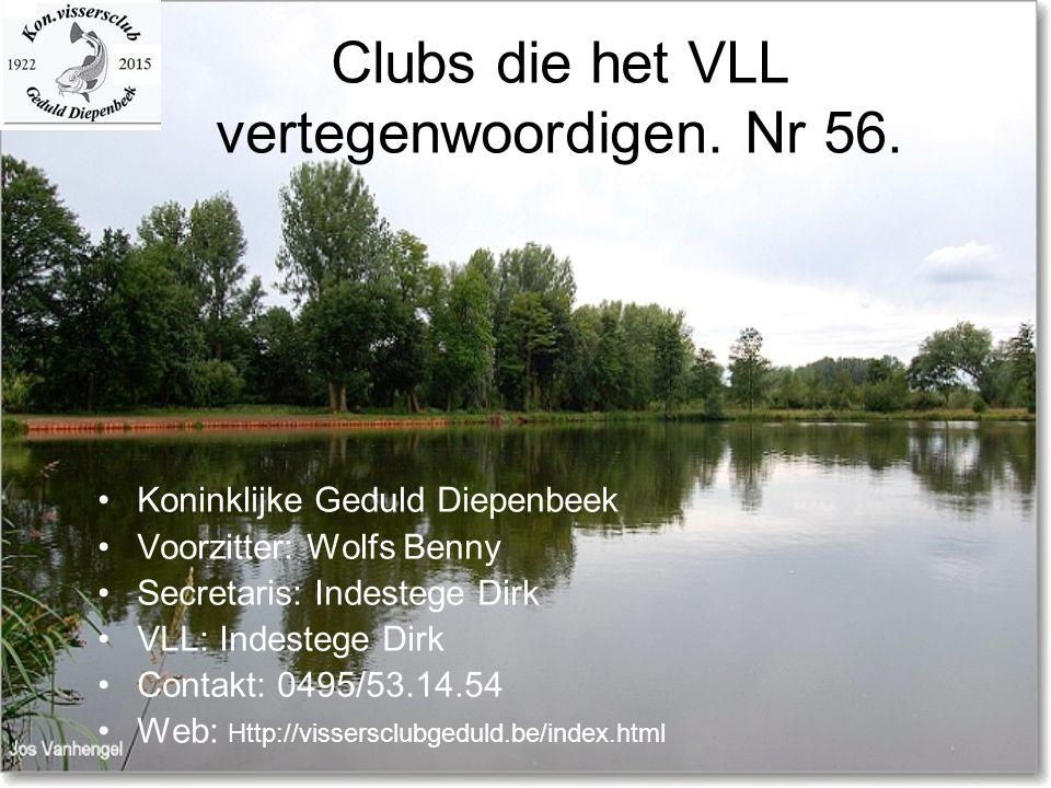 Clubs die het VLL vertegenwoordigen. Nr 56.