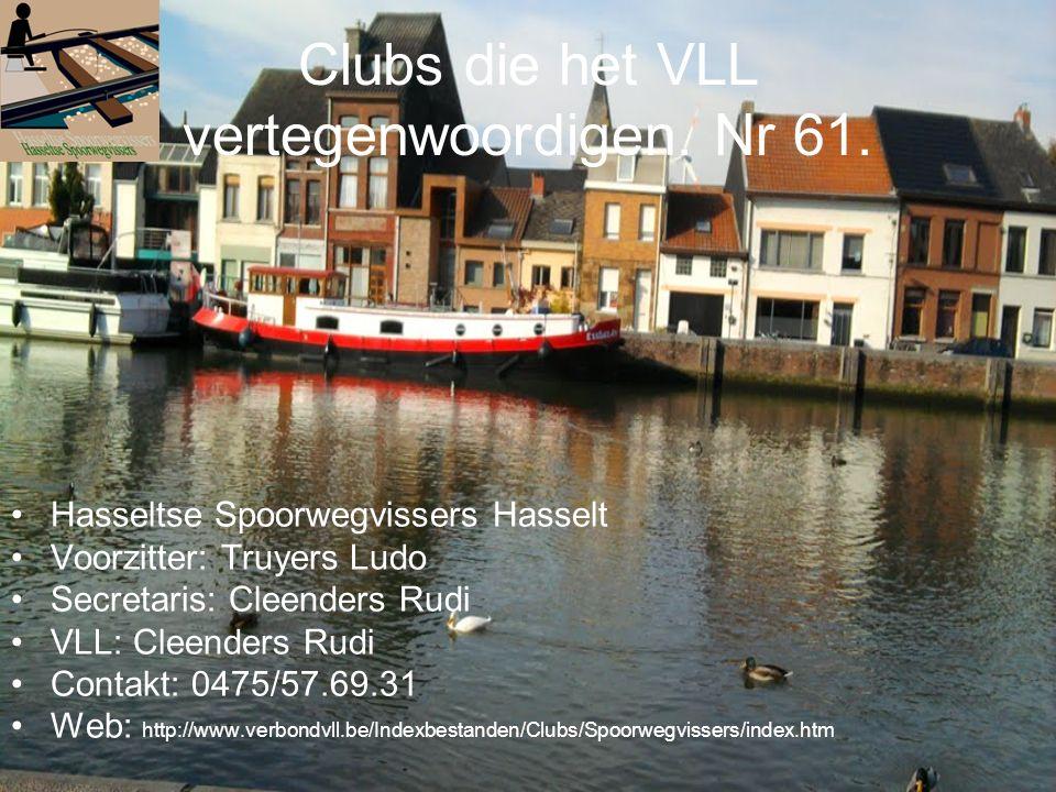 Clubs die het VLL vertegenwoordigen. Nr 61.