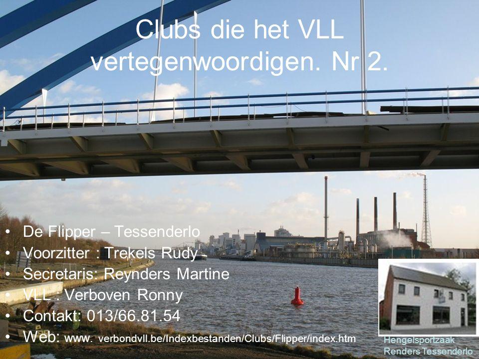 Clubs die het VLL vertegenwoordigen.Nr 57.