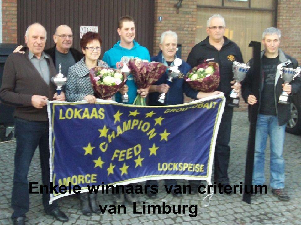 Enkele winnaars van criterium van Limburg