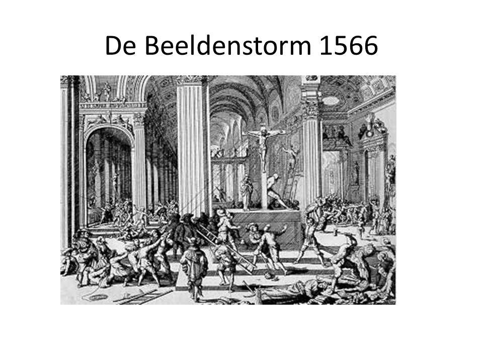 De Beeldenstorm 1566
