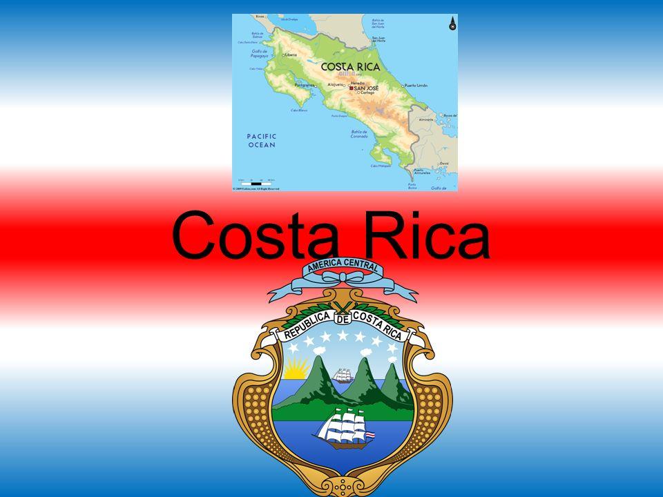 Hoofdstad: San José 4,7 miljoen inwoners Religie: Christendom Oppervlakte: 51.000 km2 Taal: Spaans Munt: Colon