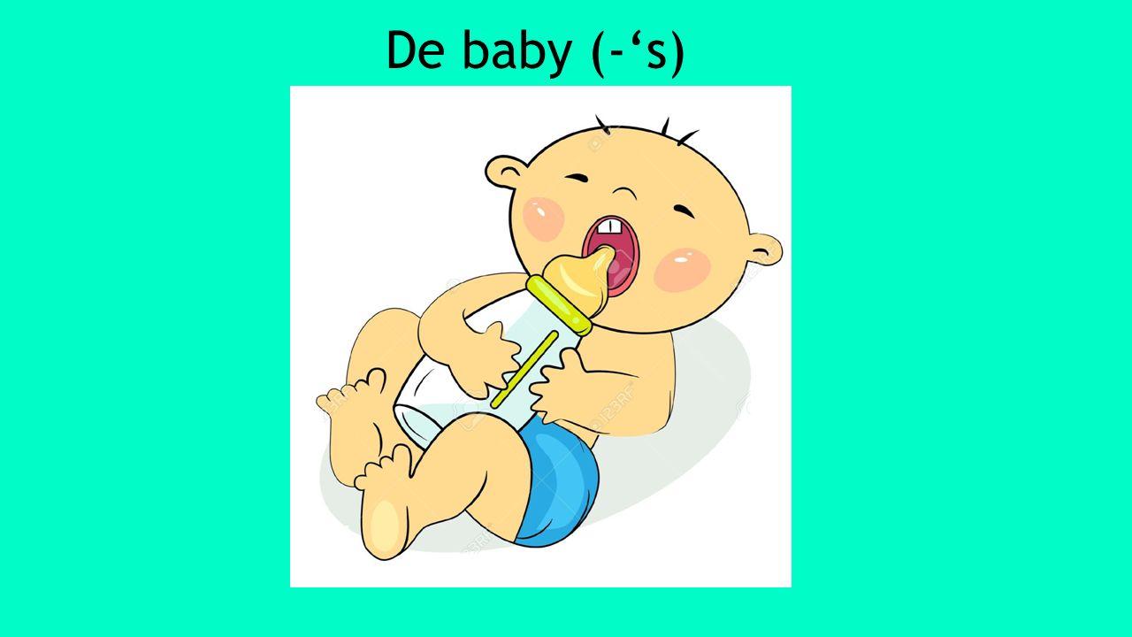 De baby (-'s)