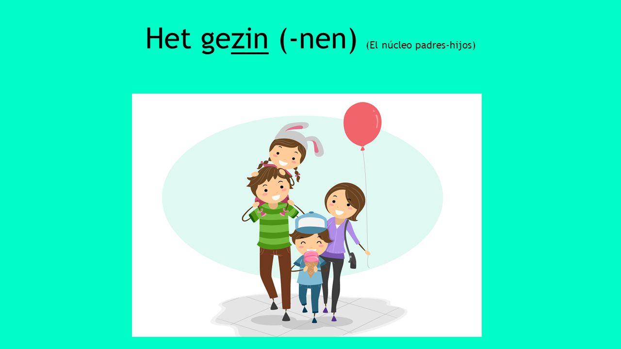 De ouders De vader (-s) [pa/paps] De moeder (-s) [ma-mam]