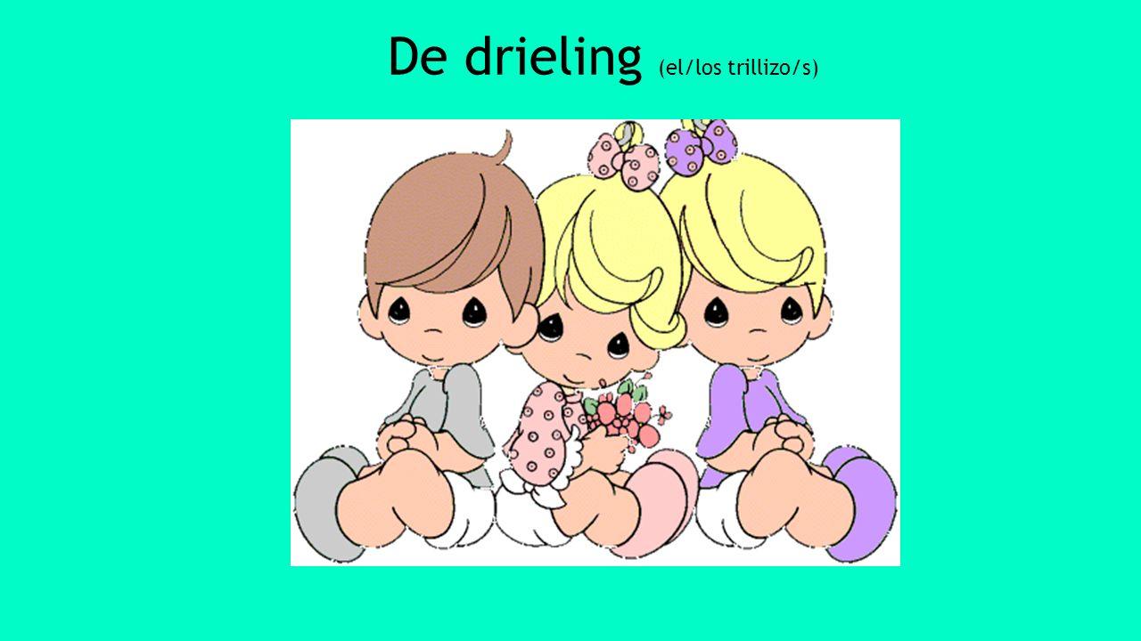 De drieling (el/los trillizo/s)