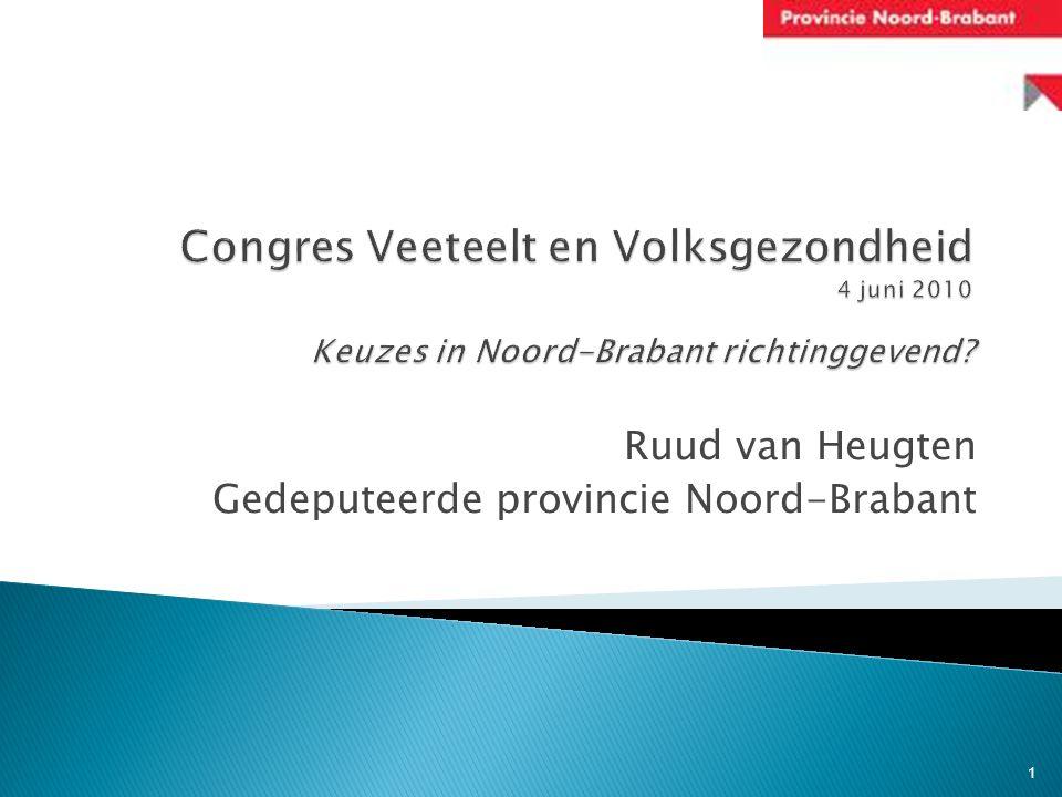 Ruud van Heugten Gedeputeerde provincie Noord-Brabant 1