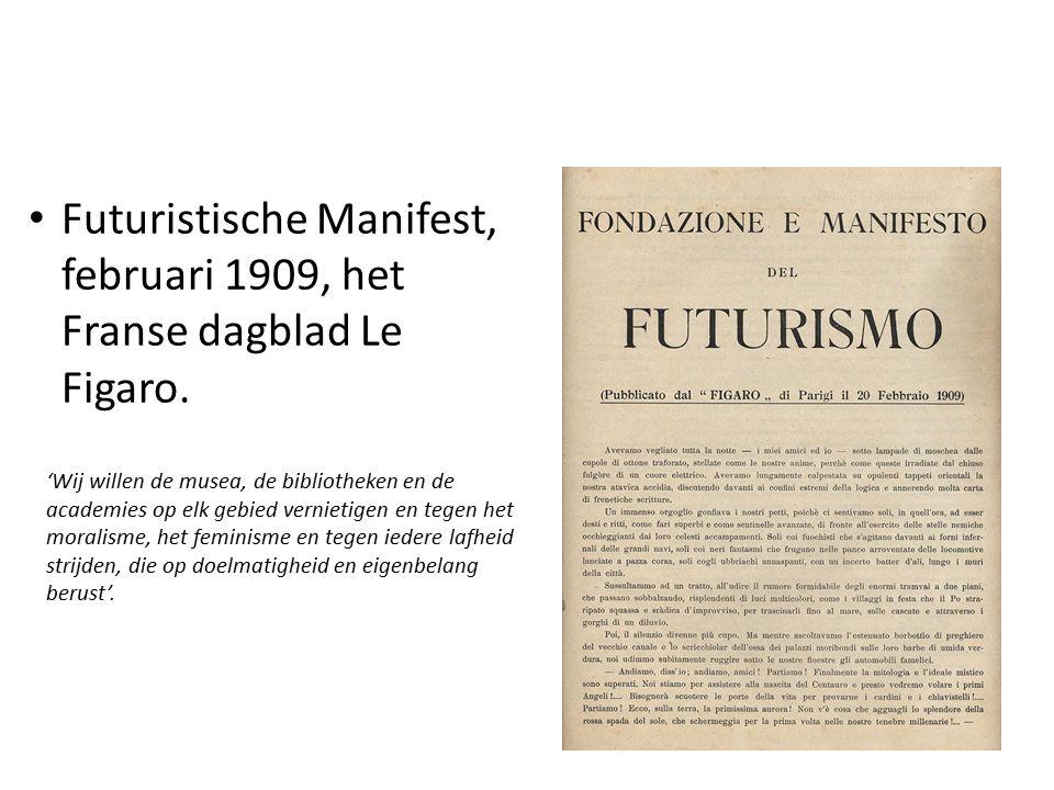 Toekomst De toekomst = (Futuro) Tradities van de 19e eeuw.