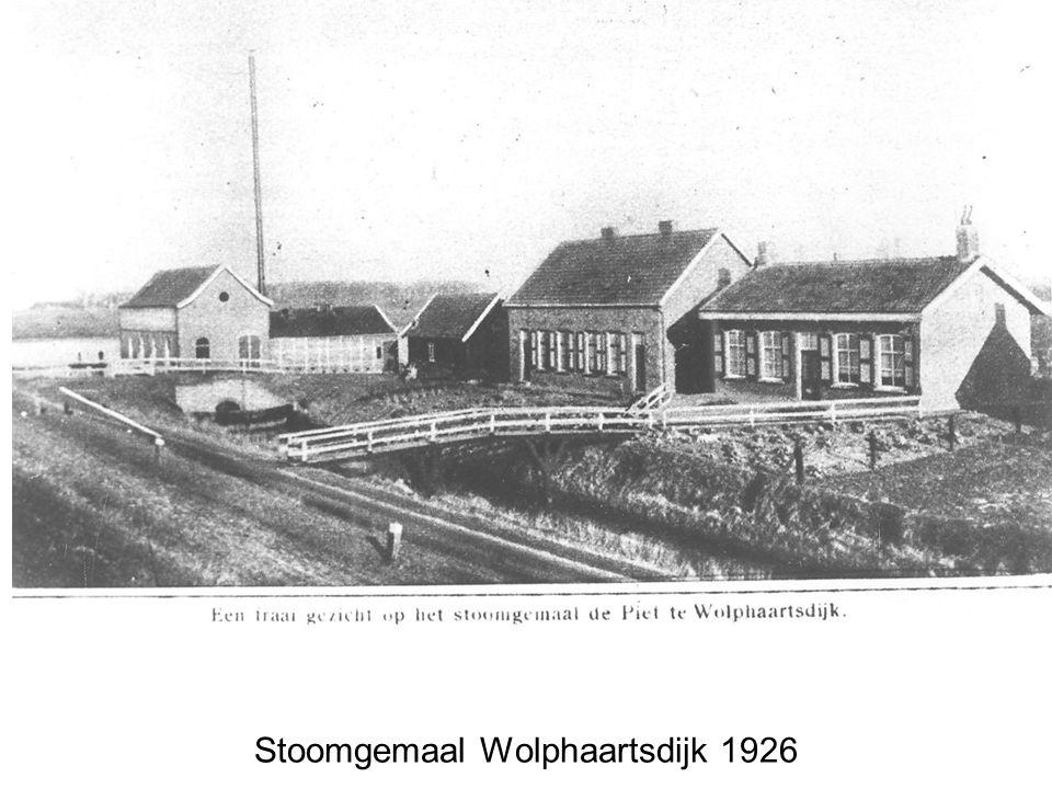 Stoomgemaal Wolphaartsdijk 1926