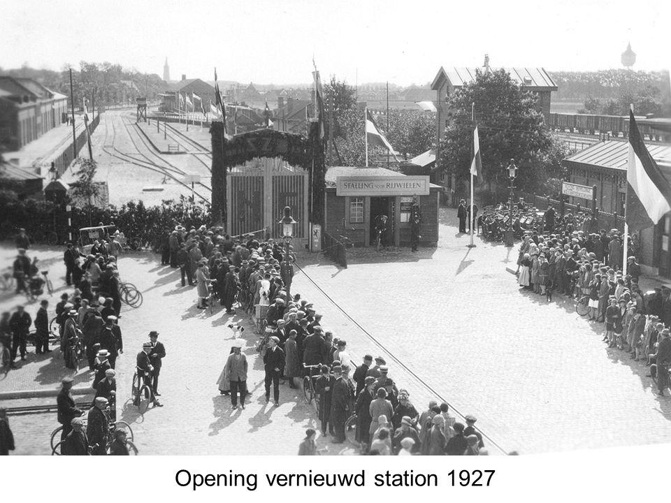 Opening vernieuwd station 1927
