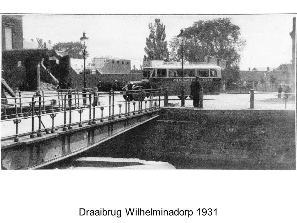 Draaibrug Wilhelminadorp 1931