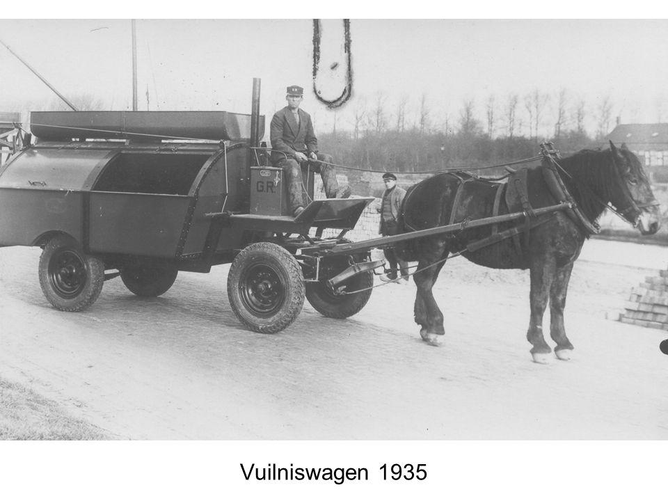 Vuilniswagen 1935