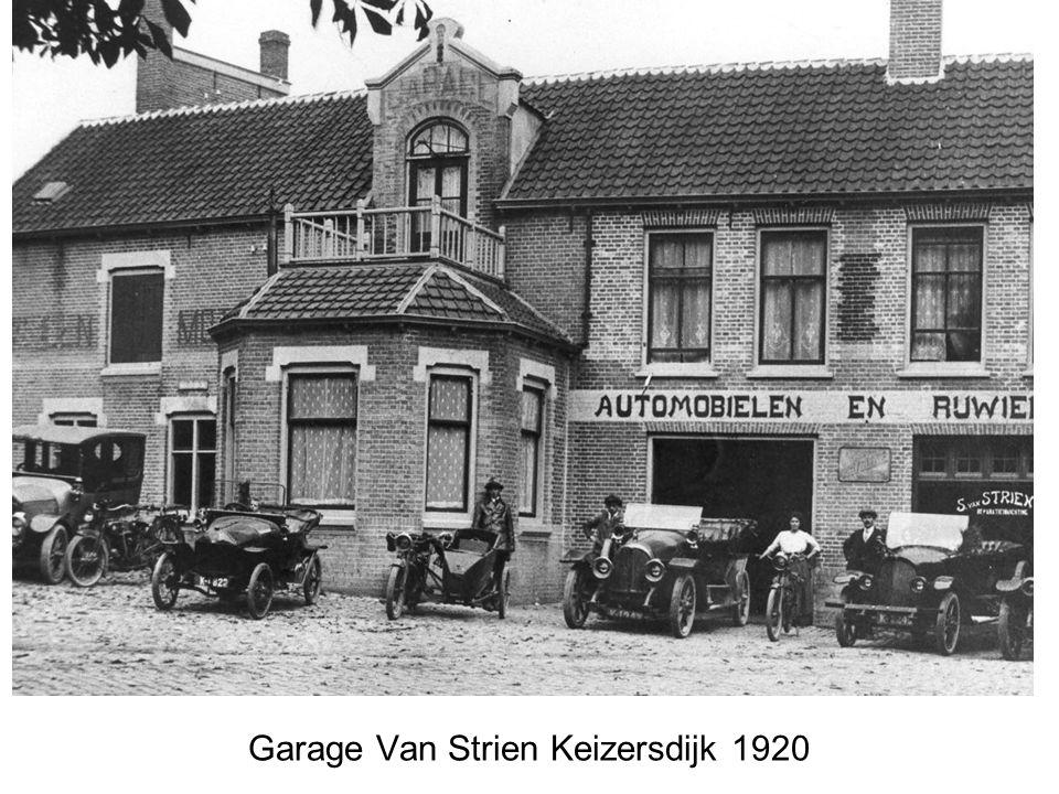 Garage Louisse opening Westwal in 1926